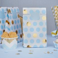 Pattern Works Blue Dots Party Bags (5)